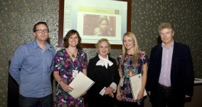 Celia Birtwell Presents GoodWeave Design Competition Prizes